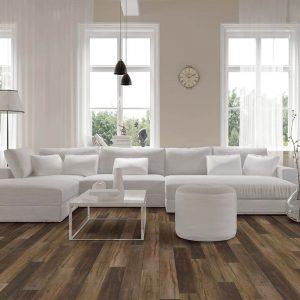 Vinyl flooring in living room | Mill Direct Floor Coverings
