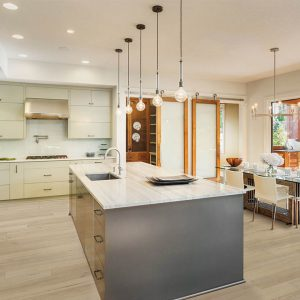 Kitchen with Vinyl flooring | Mill Direct Floor Coverings