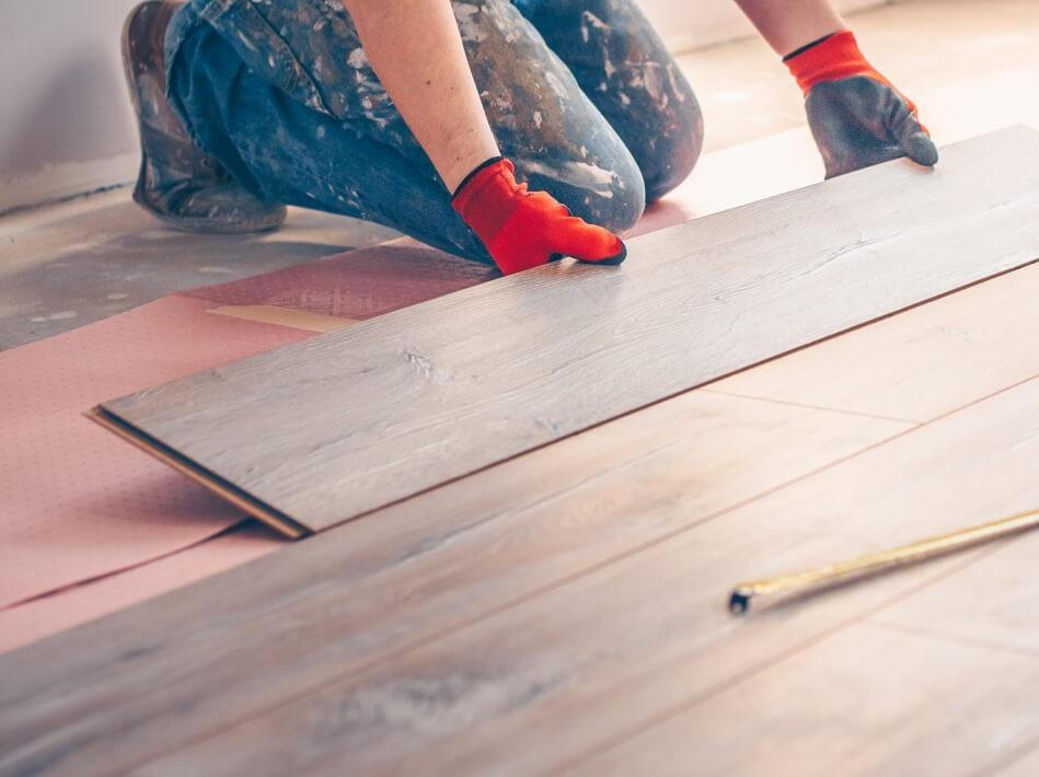 Hardwood Floor installation | Mill Direct Floor Coverings