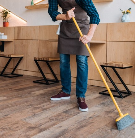Hardwood cleaning in Pickering, ON | Mill Direct Floor Coverings