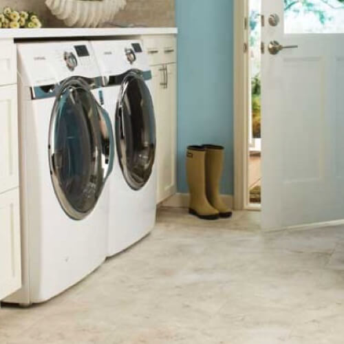Tile laundry room | Mill Direct Floor Coverings