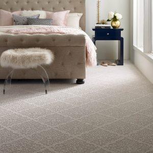 Designed Carpet in bedroom | Mill Direct Floor Coverings