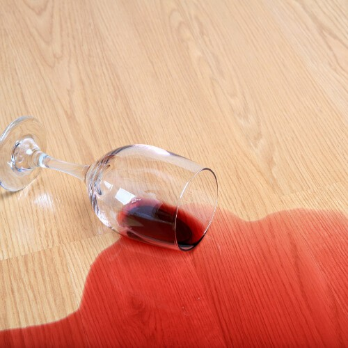 Spills and stains on floor | Mill Direct Floor Coverings