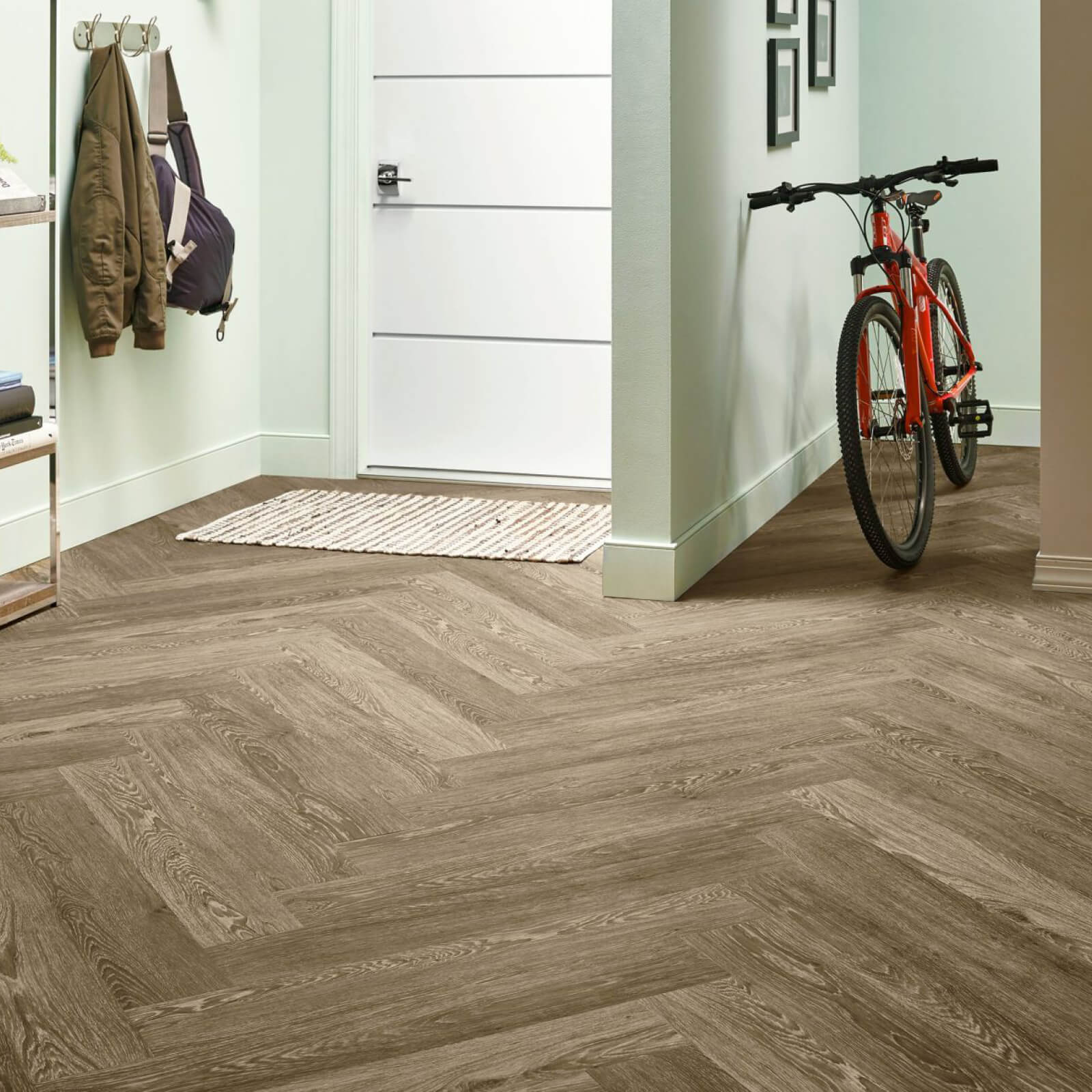Bicycle on flooring | Mill Direct Floor Coverings