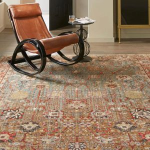 Armchair on Area Rug | Mill Direct Floor Coverings