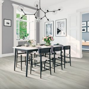 laminate flooring in modern dining | Mill Direct Floor Coverings