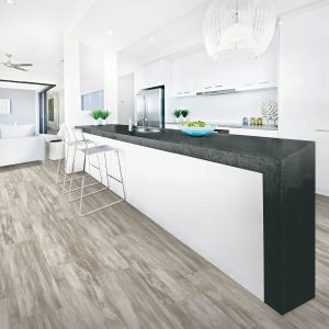laminate flooring in large modern kitchen | Mill Direct Floor Coverings