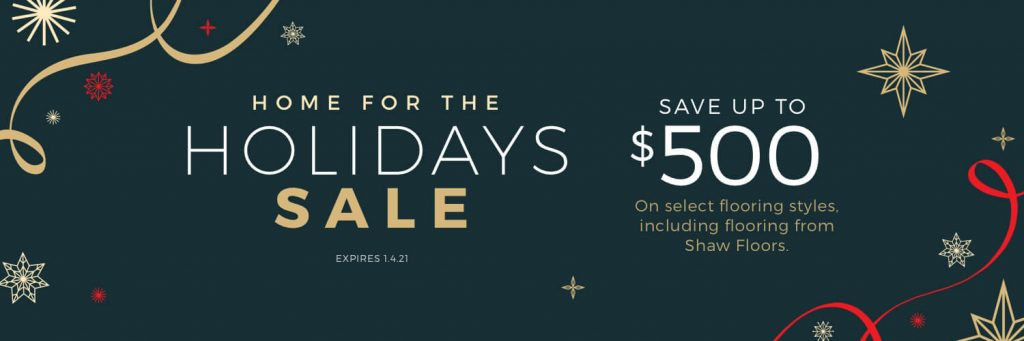 Home For the holiday sale | Mill Direct Floor Coverings