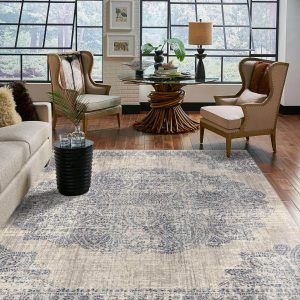 area rug in living room | Mill Direct Floor Coverings