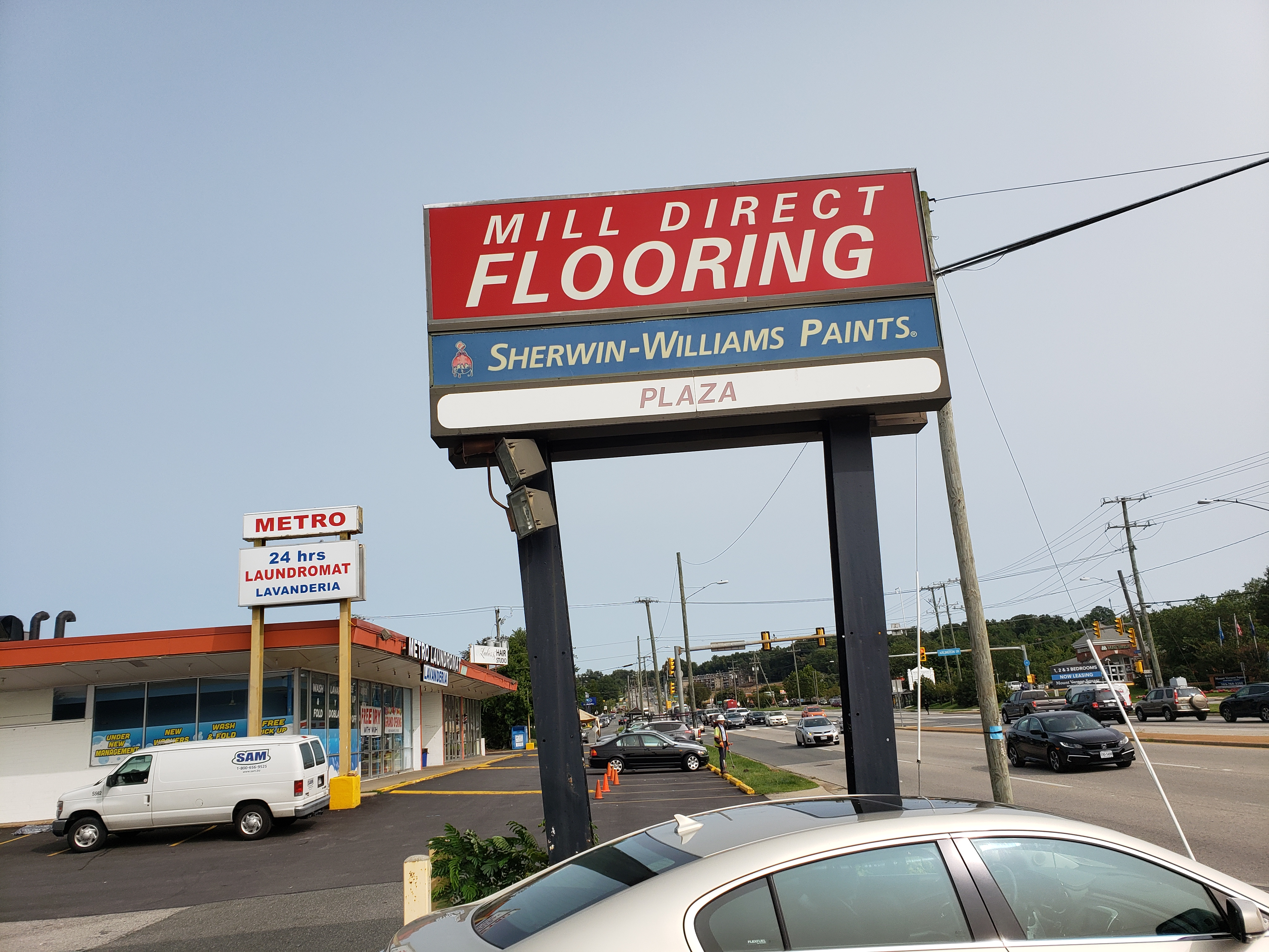 Showroom exterior view | Mill Direct Floor Coverings