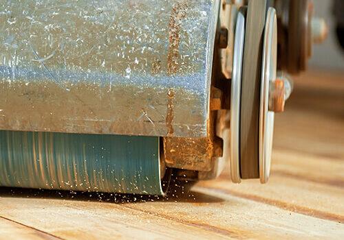 sanding down hardwood flooring | Mill Direct Floor Coverings